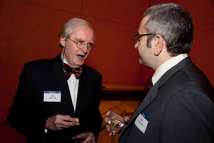 John Allen '60 and Rich Guberman