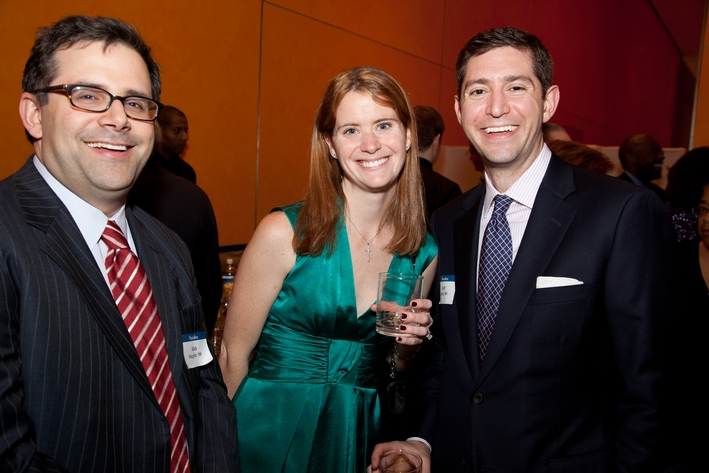Rich Stieglitz '00 and Peggy Malloy Garte '01 and Jeff Garte '00