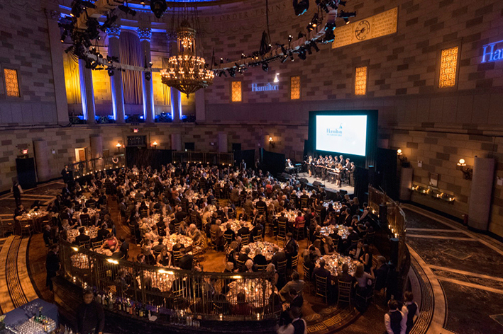 The 18th Annual 1812 Leadership Circle dinner was held Friday, December 4, 2015 at Gotham Hall in New York City. <br />Photo: Don Hamerman
