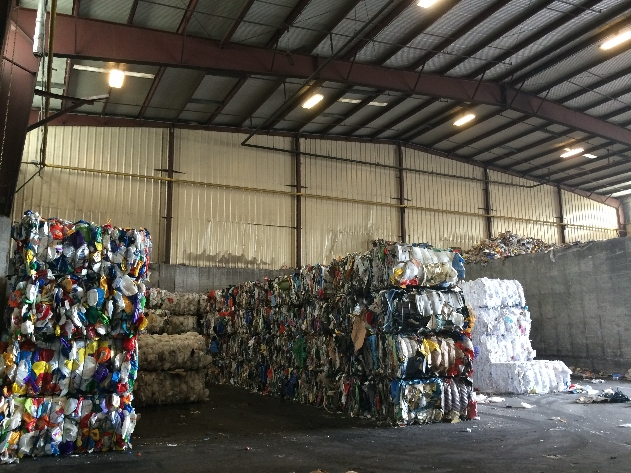 After completely separating and packaging recyclables OHSWA is able to sell this material to companies who produce products from recycled materials.