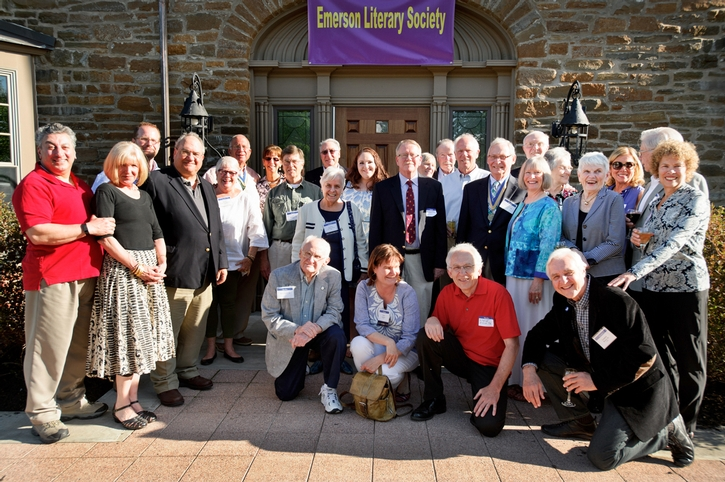 Members of the Emerson Literary Society.<br />Photo: Rebecca L. Sheets