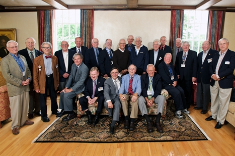 Members of the class of 1957.