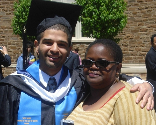 Francisco Blanco '08 and Ms Breland