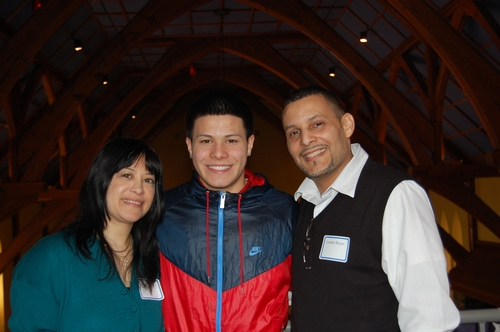 Michael Reyes '14 and Family