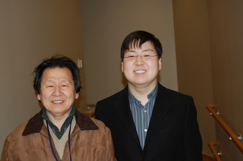 InJun Lyo '11 and father