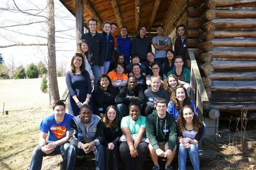 Cabin Retreat with Colgate, Spring 2014