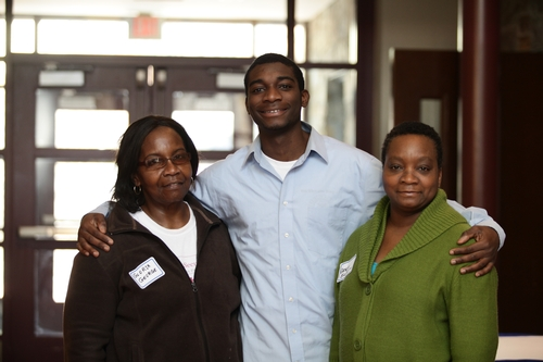 Shaquan Phillip '14 and family