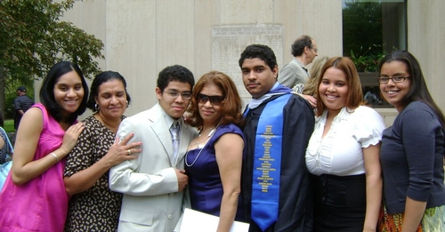 Josue Acosta and family