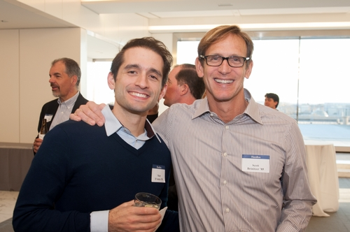 Matt D'Amico '08 and Scott Brinitzer '85
