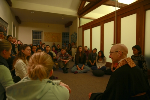 Instruction on Zazen Sitting Meditation