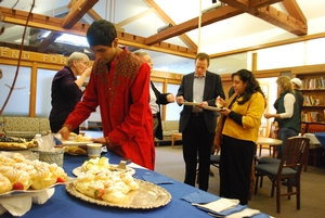 Reception for Dedication of new Muslim Prayer Room