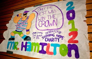 Mr. Hamilton competition
