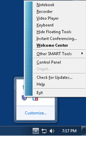 Resource Center - SmartBoard Tools - Hamilton College