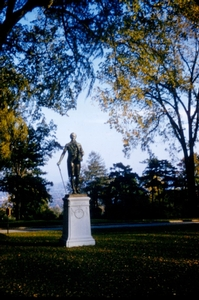 Alexander himself--a view toward the East before the construction of the Bristol Campus Center
