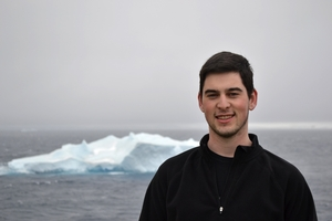 Hamilton's very own Andrew Seraichick on our first full day in the Antarctic Sound.