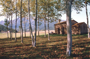 The pre-Pyrennees landscape of the Garrotxa
