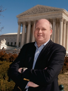 Marc Elias '90, general counsel to the Democratic Senatorial Campaign Committee, mostly works near the Supreme Court, but he returned to the Hill in 2007 and 2011 as a visiting distinguished lecturer to teach a course in Modern Campaigns and Elections.