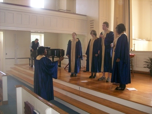 Gospel Choir in Chapel