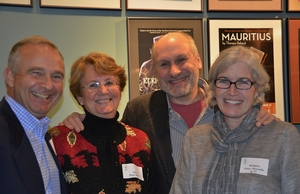 Greg Pepe, Ann Baker Pepe, Greg Marsello, and Melinda Foley-Marsello