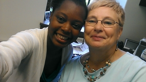 @HamiltonOpportunityProgramsHEOP/Scholar I found you at Sadove Student Center with Theresa Gallagher.#iseeop @morolake