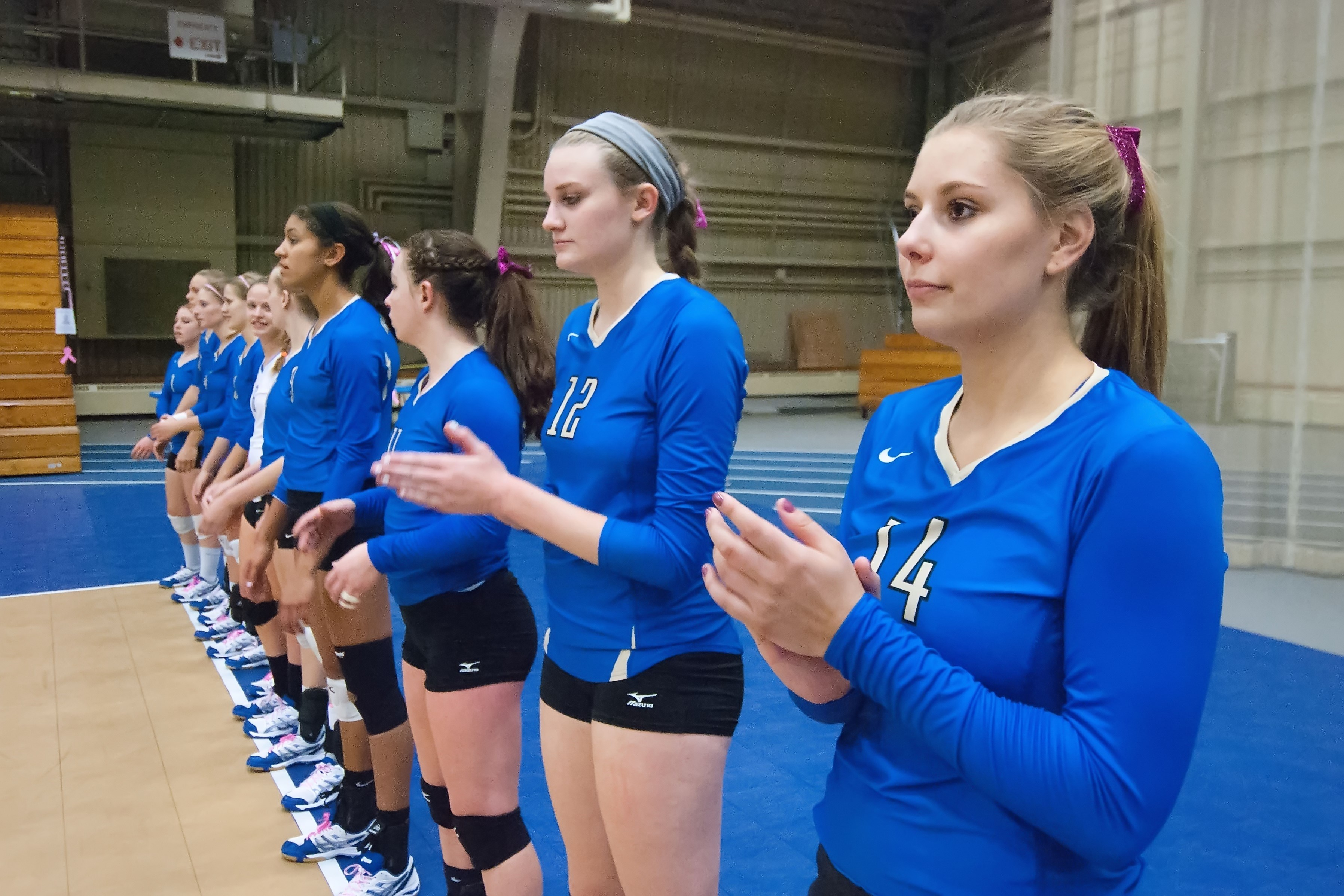 Womens Volleyball Honored With Academic Award - News - Hamilton College-1128