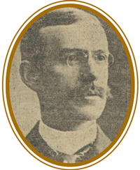 Whiteman as he appeared in a 1904 edition of the Chicago Tribune.
