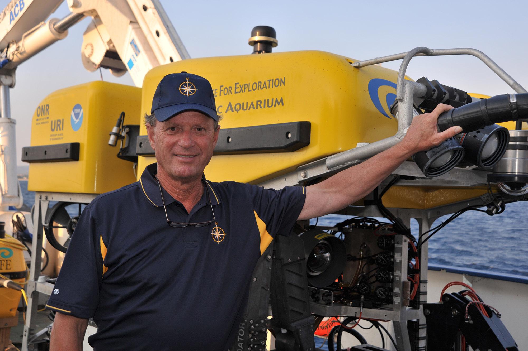 Oceanographer Robert Ballard