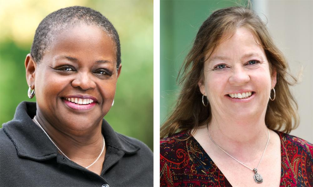 Phyllis Breland and Brenda Davis
