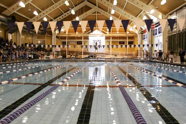 Two olympians visit hamilton swim camp hamilton college - University of bristol swimming pool ...