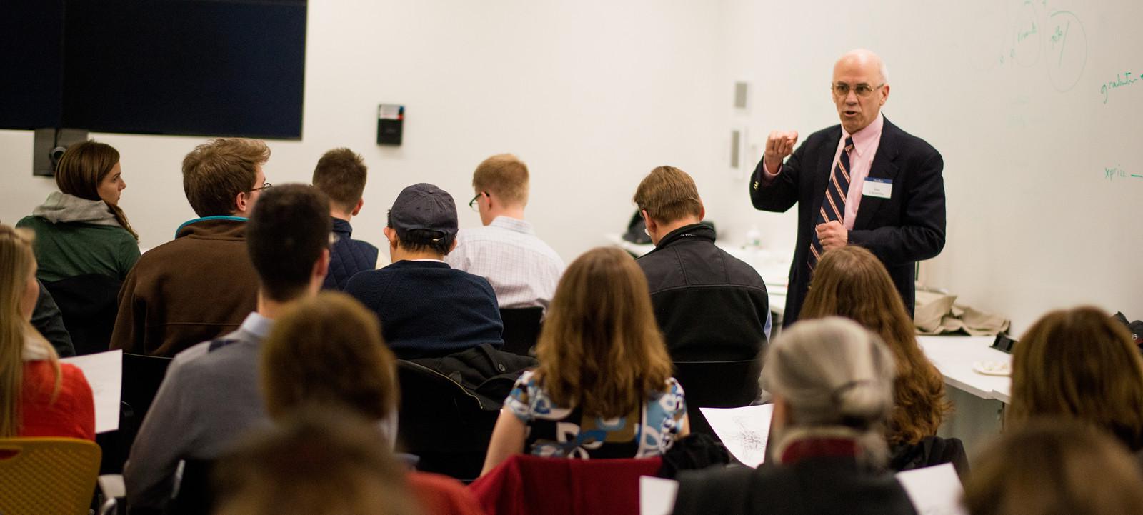 Dan Chambliss discusses <em>How College Works</em> at MIT