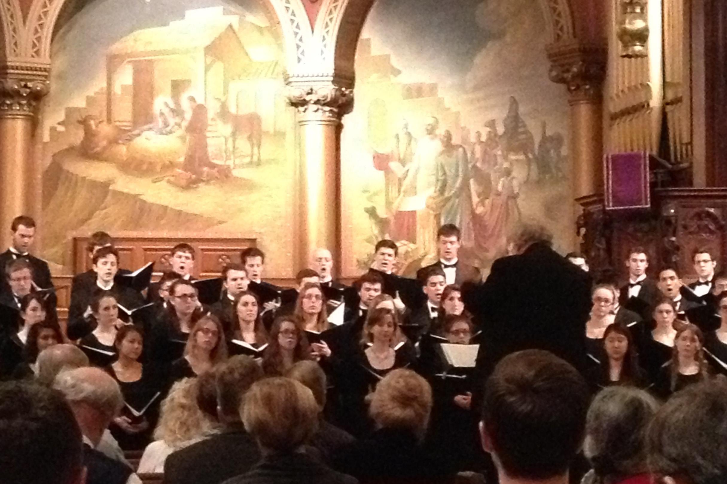 Choir at Philadelphia's Church of the Holy Trinity