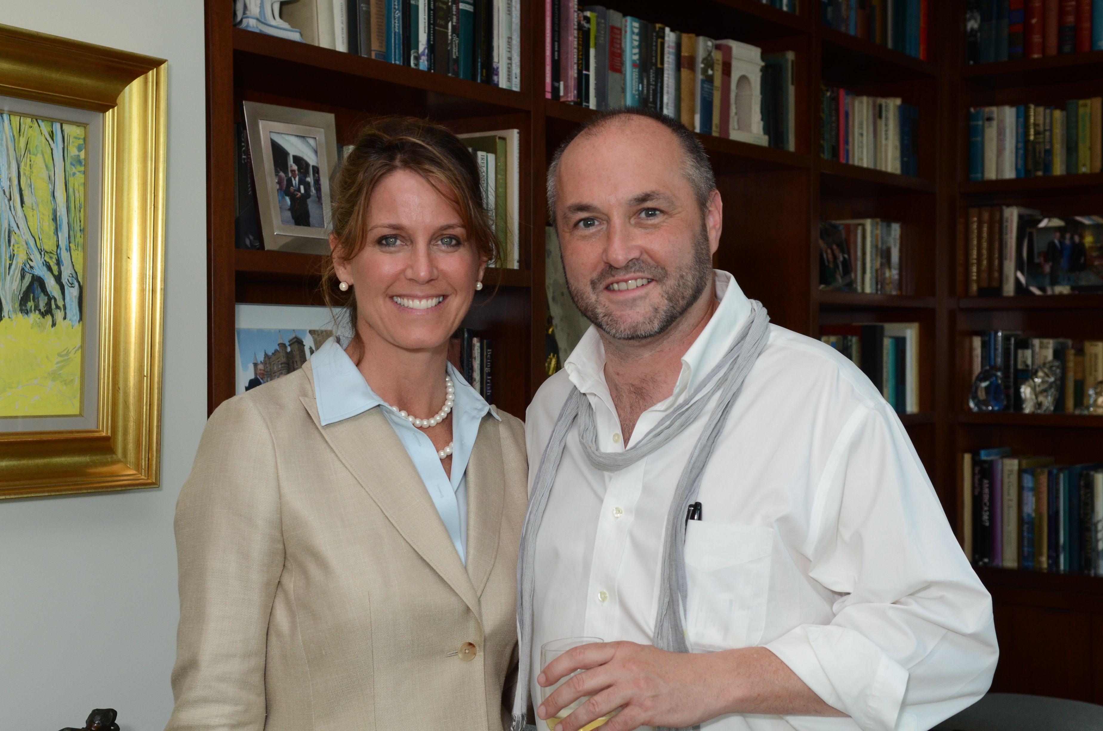 Lisa Consiglio and Colum McCann