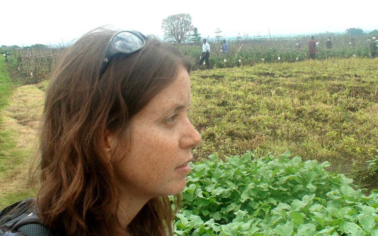 Danielle Nierenberg in Tanzania