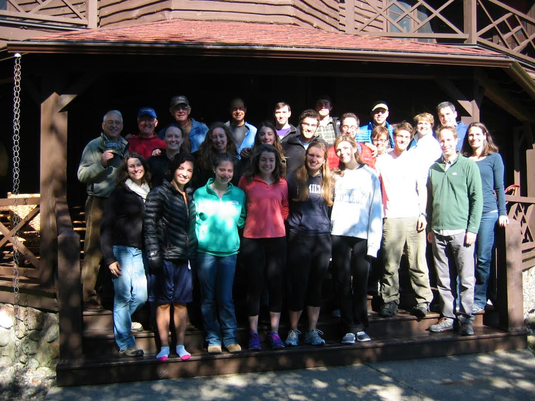 Students in ES 220 along with professors Kinnel, Dash and Rayne visited Camp Wenonah in the Adirondacks. Their hosts were Jim '68 and Anne Schoff.