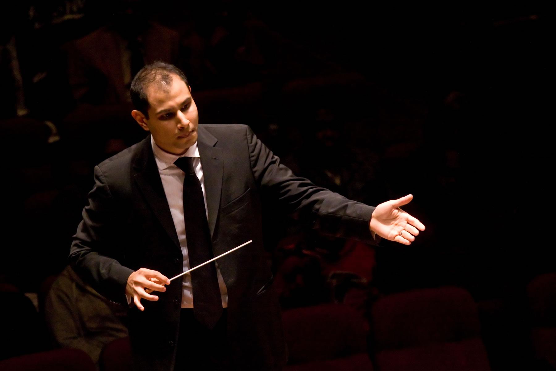 Symphoria conductor Fawzi Haimor