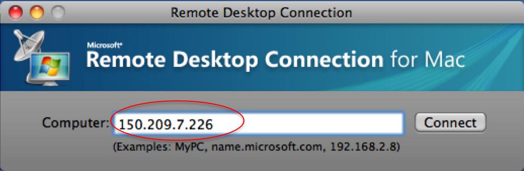 Remote desktop windows for mac os x