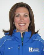 Head women's lacrosse coach Patty Kloidt