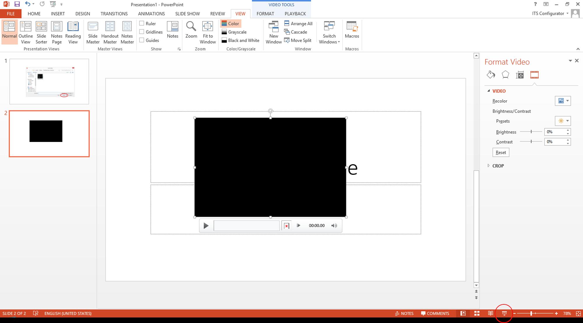 Resource Center - Embedding Video in PowerPoint on Windows 8
