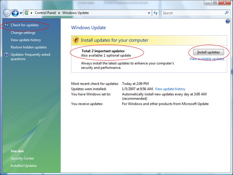 how to check when windows updates were installed