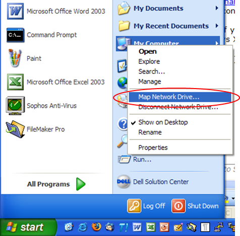 Resource Center - Connecting to SSS in Windows XP - Hamilton ... on map network drive on winxp, mapping network on xp, map network drive mac, map drive windows 7, map windows network icons, map network drive windows mobile, map network drive windows 10, map network drive server 2012, map in windows xp networking, map a network drive win7,