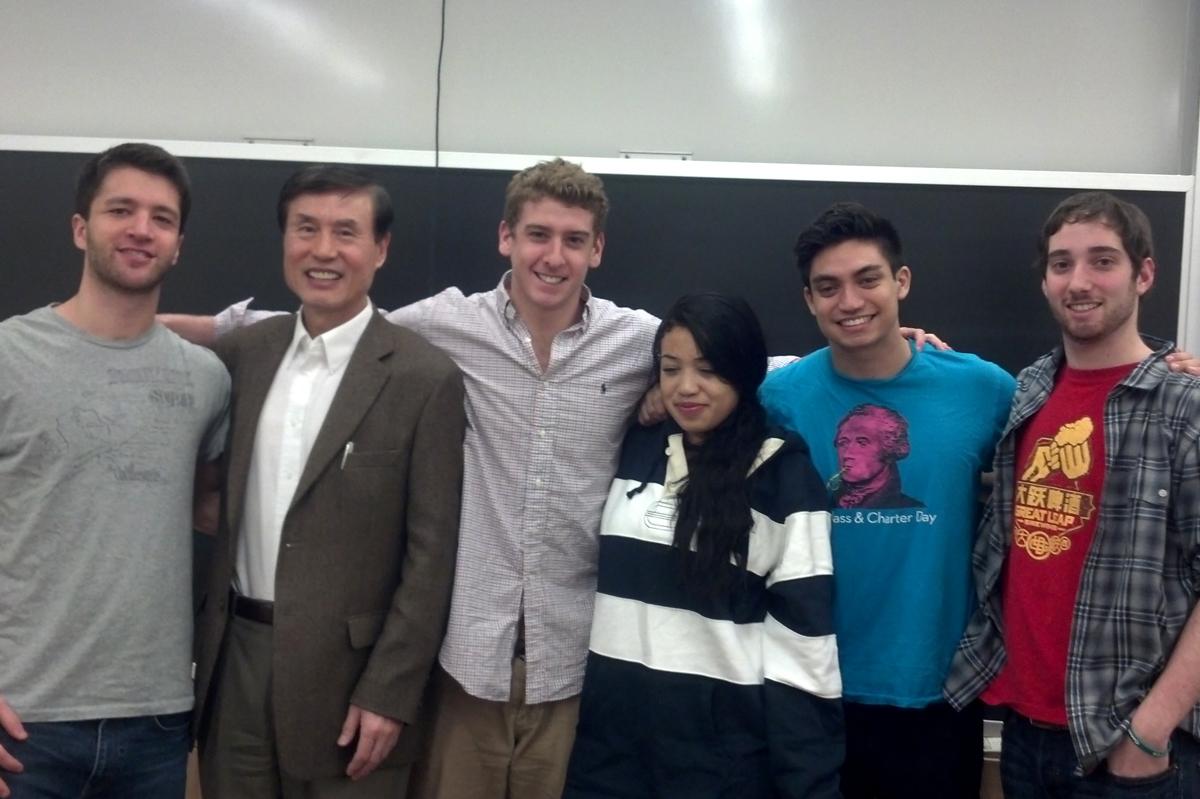 Ryan Beres, Professor De Bao Xu, David Goldstein, Kimberly Rowley, Liam Frost, Mitchell Scher