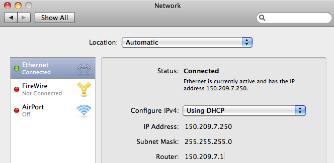 how to find your ip address mac