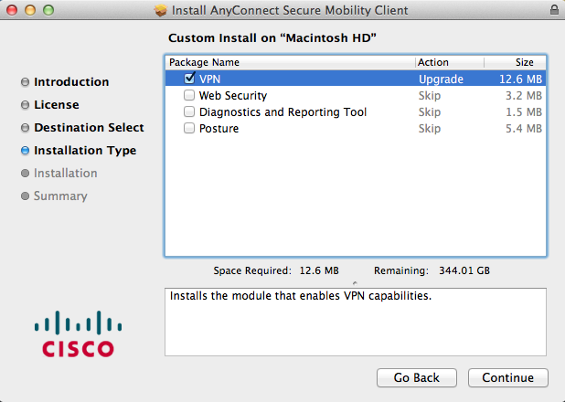 Resource Center - Manual VPN Client Installation for Mac OS
