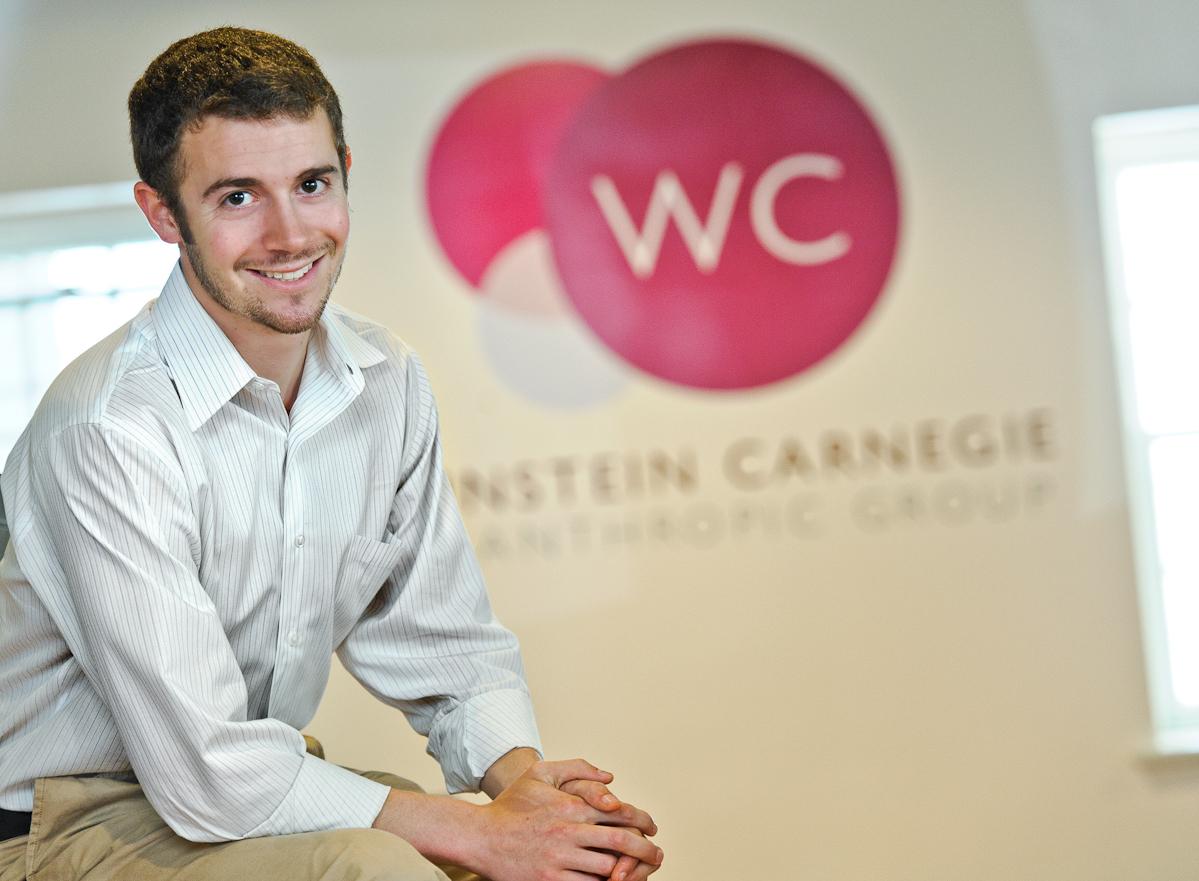 Eil Shakun '16 at Weinstein Carnegie Philanthropic Group.