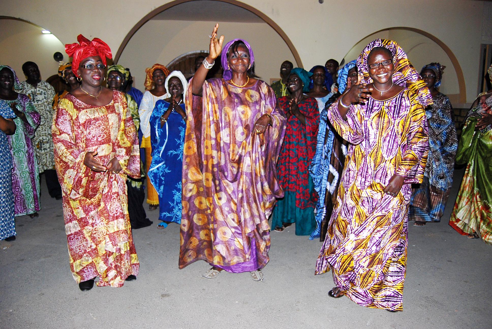 The Senegal St. Joseph Choir.