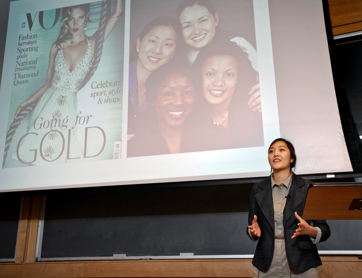 """Crystal Kim presents """"Women of Color and Spectrums of Body Image: Intersections Between Race and Gender."""""""