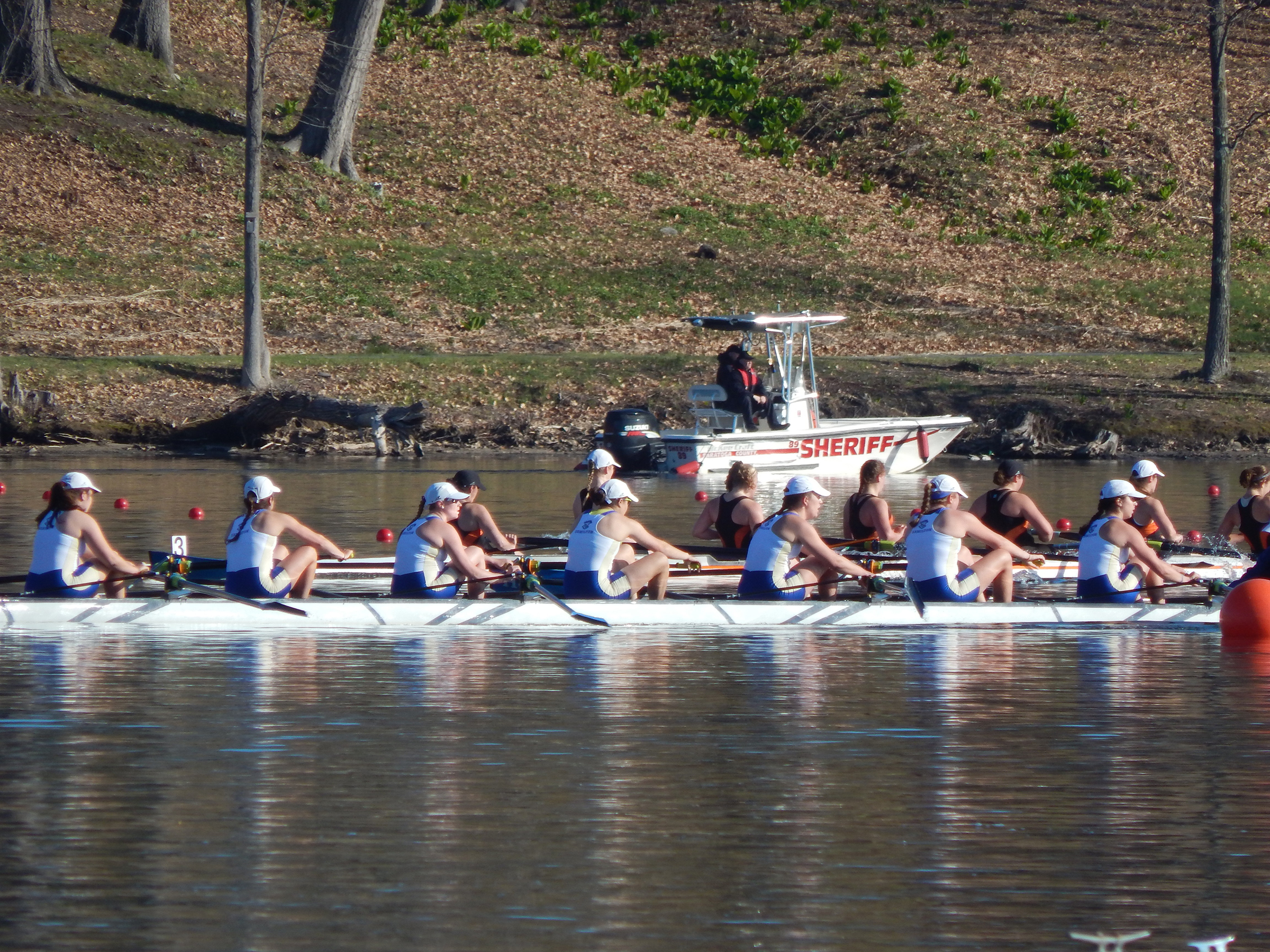 Women 39 s rowing captures gold medal in varsity 8 news for Hamilton fish library