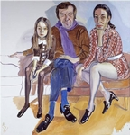 In 2011, Barry's exhibition on Alice Neel brought these two paintings, a single and group portrait into the MFAH collection. While the MFAH bought one, the Portrait of Dorothy Pearlstein was given to our institution by Alice Neel's sons.
