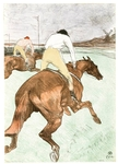 And, with One Great Night in November in 1992, Barry was also able to usher into the collection, Toulouse-Lautrec's Jockey.