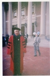 Dean Alfange, Jr. '50 at Williams Inauguration